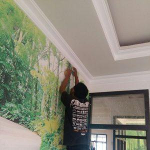 Tukang Wallpaper Dinding