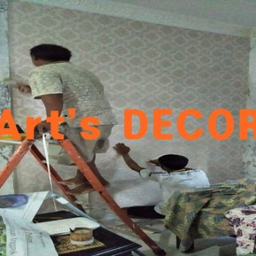 Jasa Pasang Wallpaper Dinding Tangerang