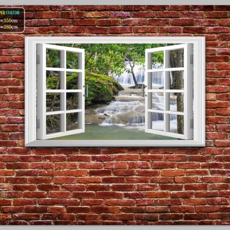 Wallpaper 3D rumah tinggal pribadi
