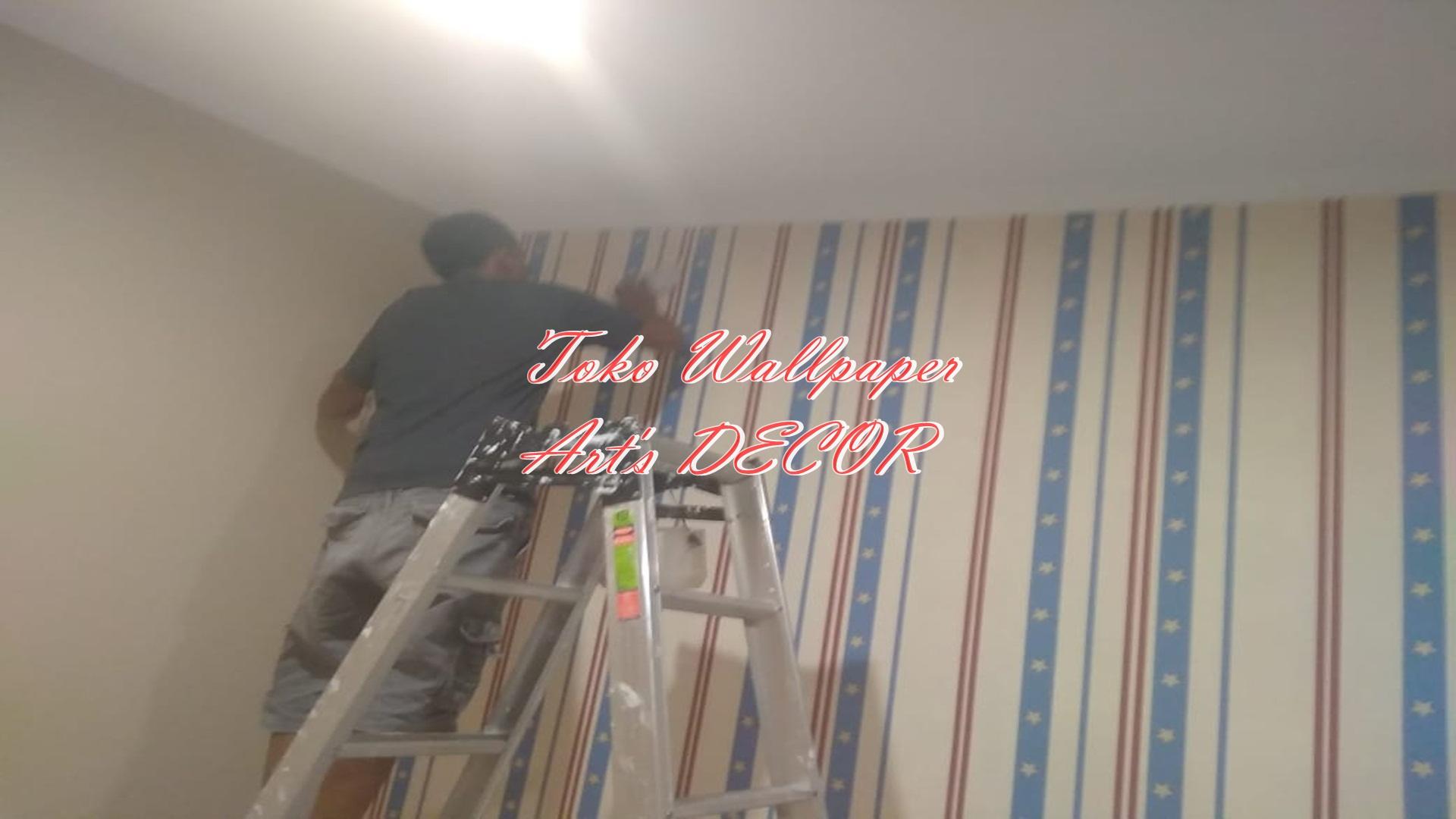 Biaya Jasa Pasang Wallpaper Dinding