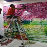 Jasa Pasang Wallpaper Di Depok