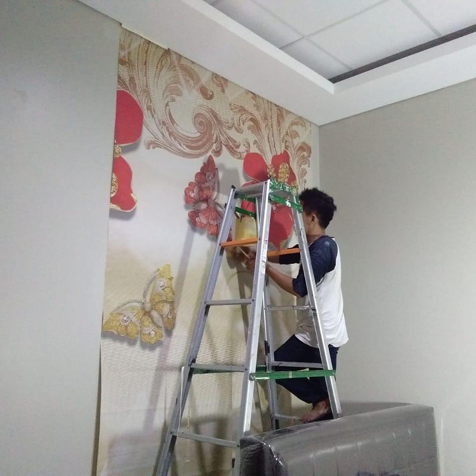 Pasang Wallpaper Dinding