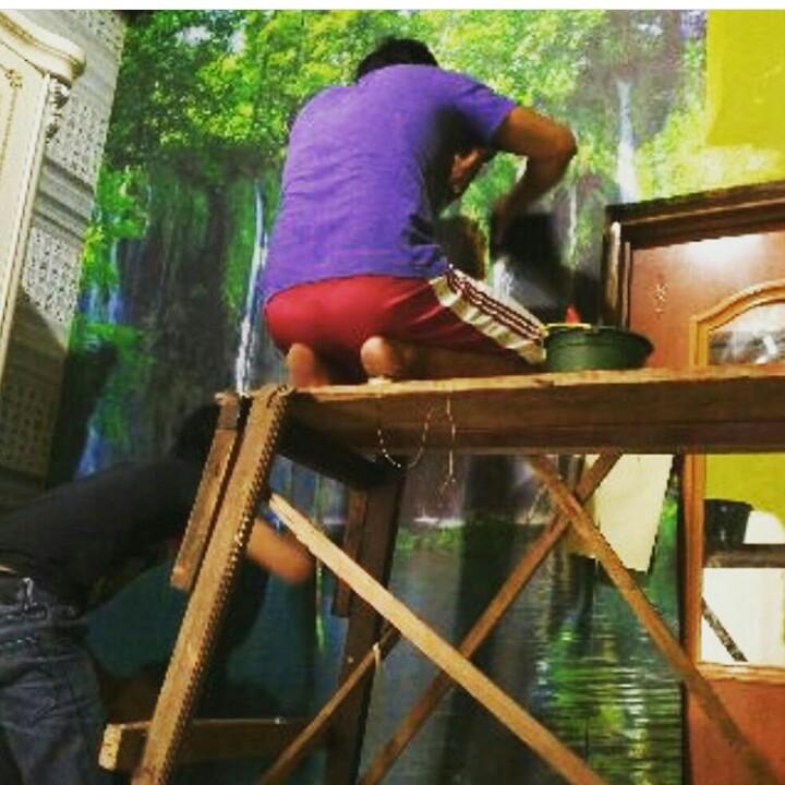 Jasa Pasang Wallpaper Dinding Jogja